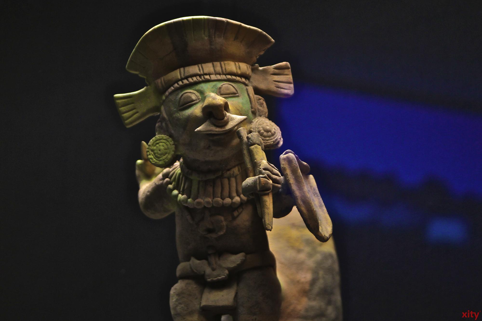 Das Hetjens-Museum zeigt momentan eine Ausstellung mit Keramik aus den Anden (Foto: xity)