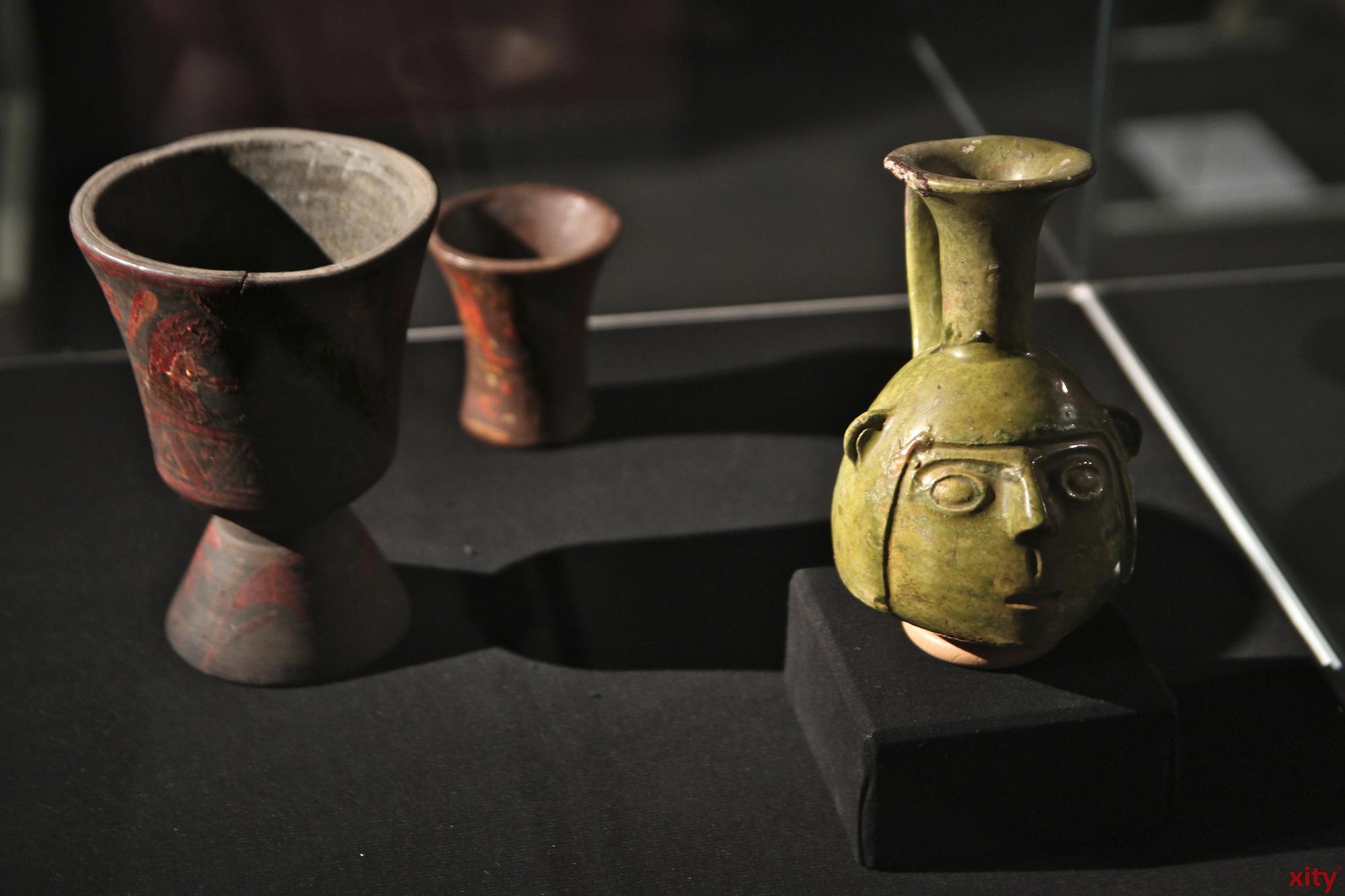 Die Inkas fertigten verschiedenste Alltagsgegenstände aus Keramik (Foto: xity)