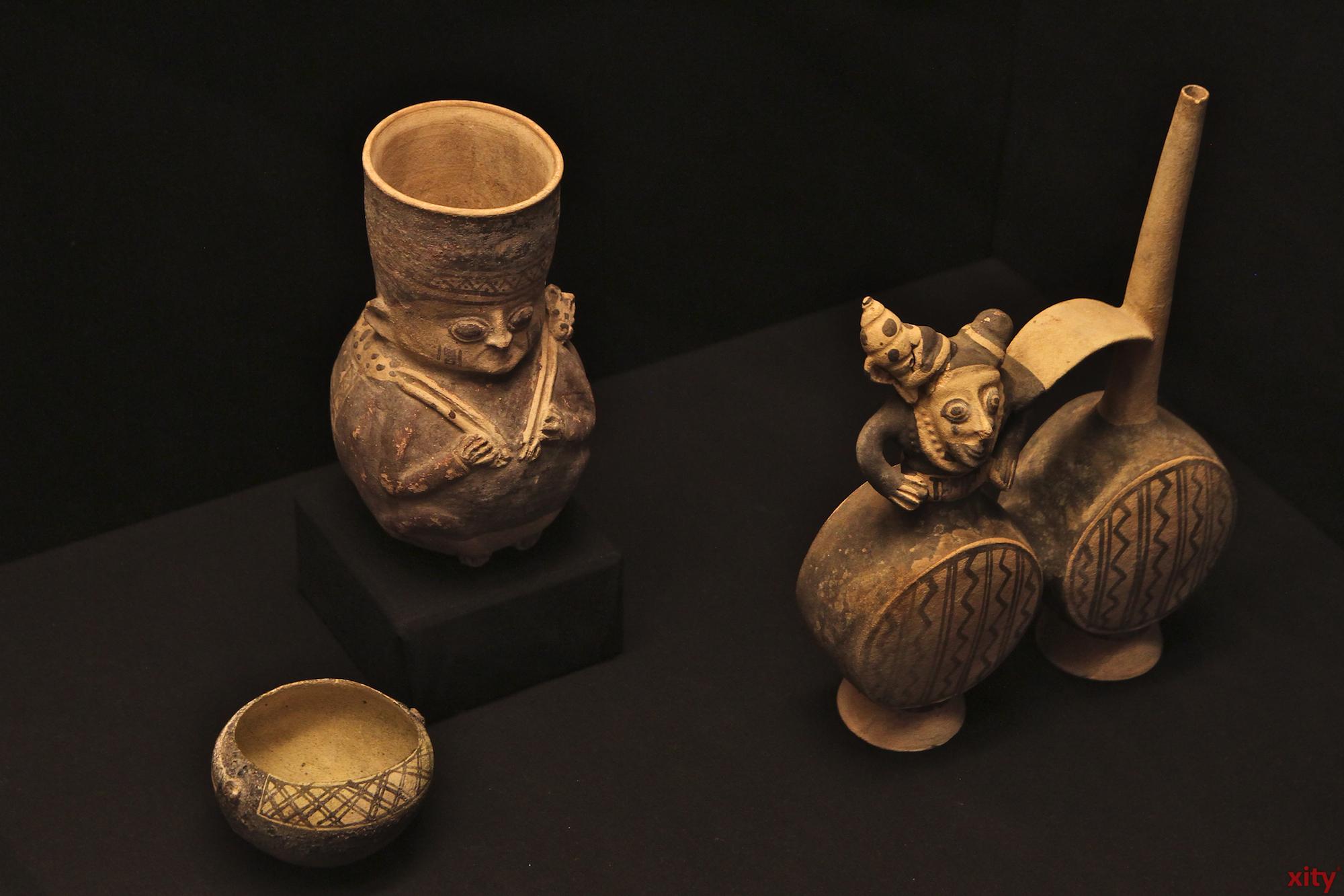 Die Keramikkunst bietet bis heute Einblicke in den Alltag der Schamanenkultur (Foto: xity)