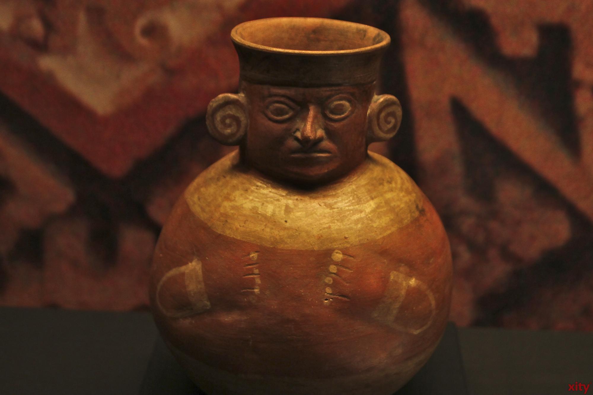 Die Werke sind aus 4000 Jahren prekolumbischer Geschichte (Foto: xity)