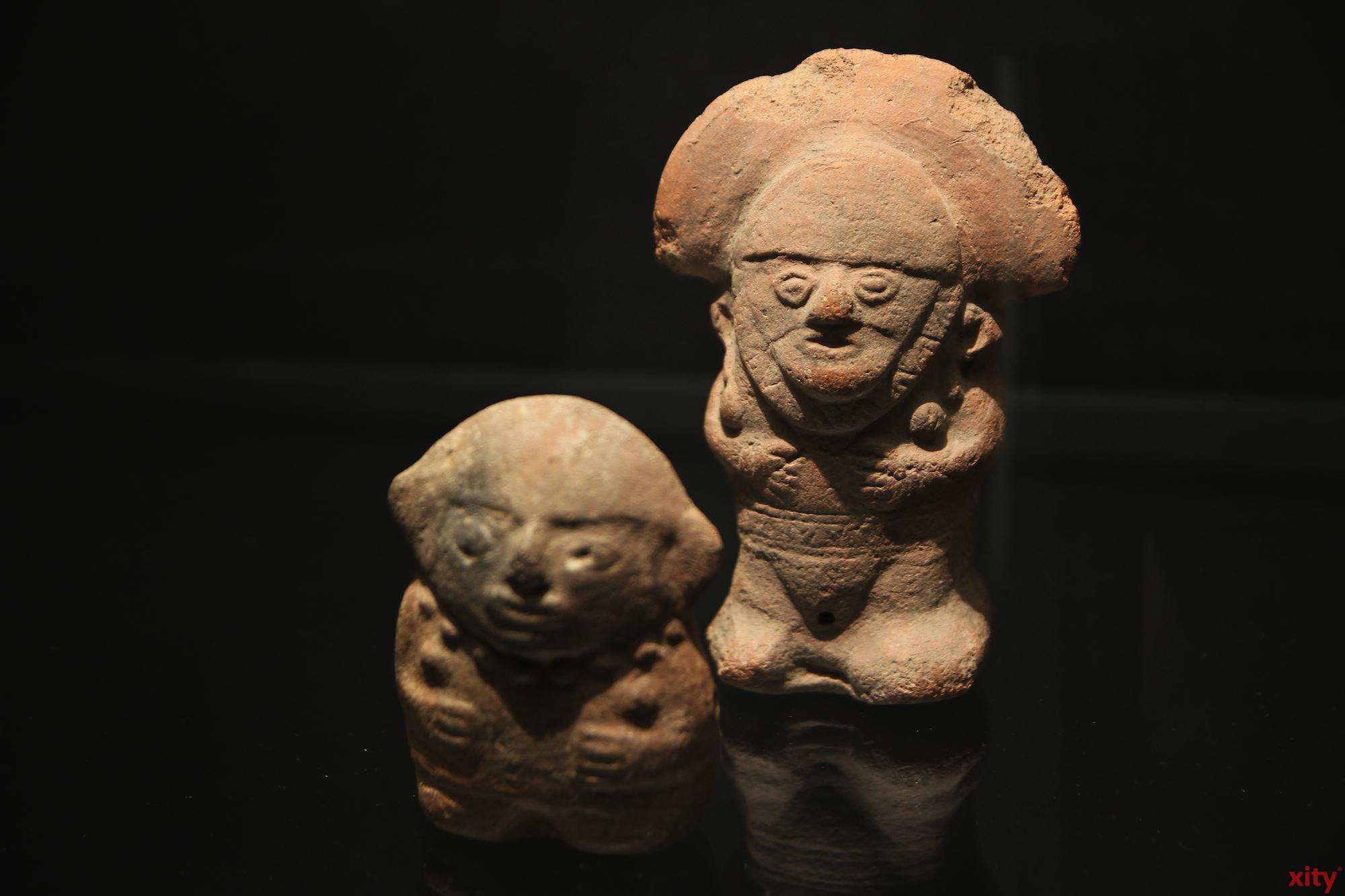 Da die prekolumbischen Völker keine Schrift nutzten, sind diese Keramikarbeiten eine Art, die Geschichte zu rekonstruieren (Foto: xity)