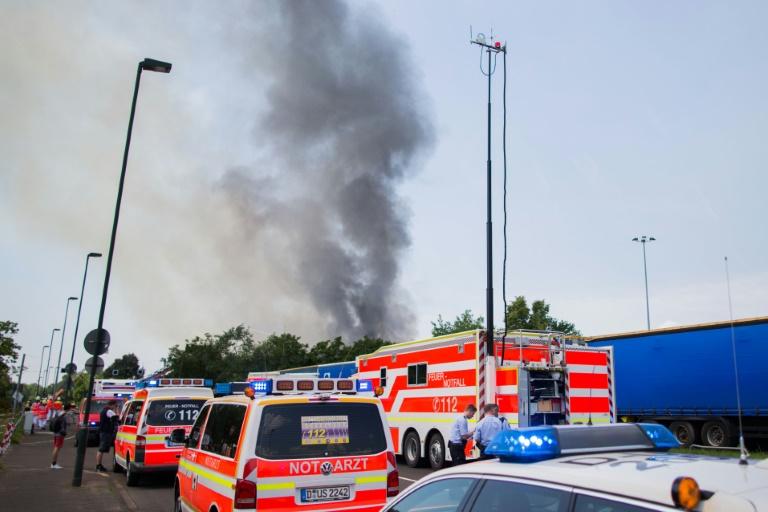 """Jäger: Tatverdächtige von Düsseldorf """"mit gewisser Aggressivität"""" aufgefallen (© 2016 AFP)"""