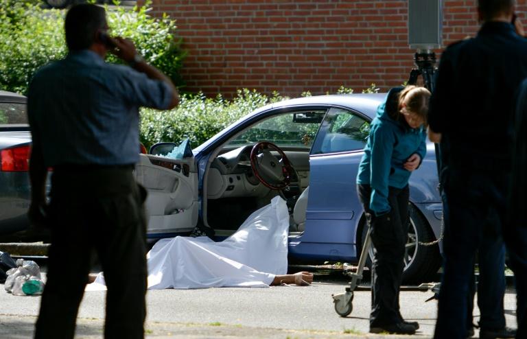 Unbekannter erschießt Hamburger Autofahrer beim Parken am Straßenrand (© 2016 AFP)