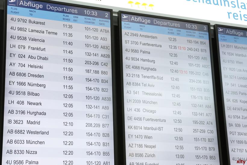 Wer mit der französischen Fluggesellschaft Air France zu einem Austragungsort fliegen will, sollte sich rechtzeitig vor Abflug über mögliche Verspätungen oder den Ausfall des Flugs erkundigen (Foto: xity)