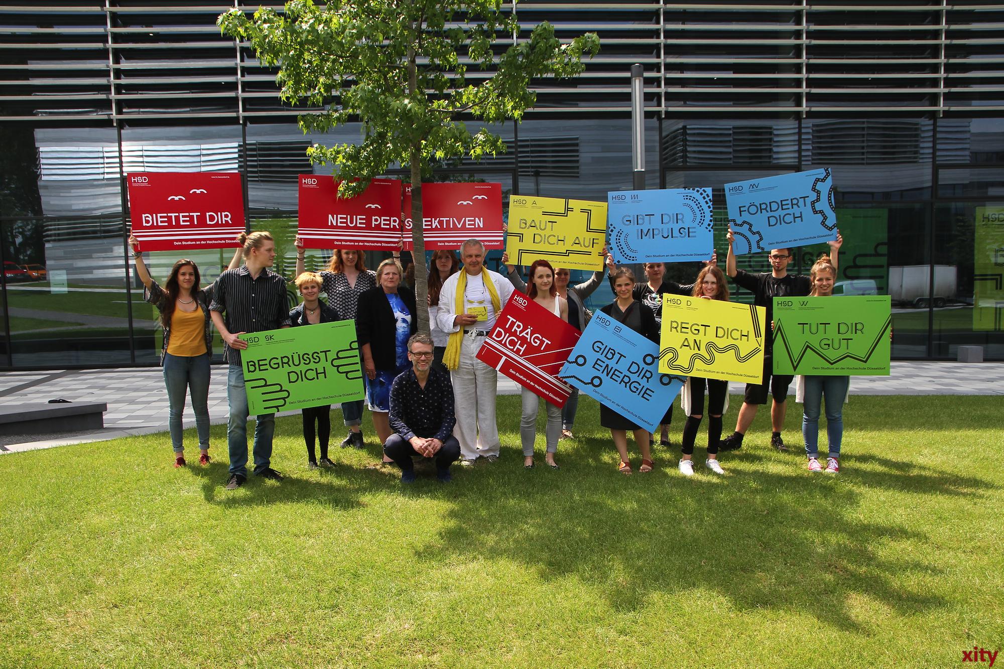 Die HSD hat am Donnerstag ihre neue Werbekampagne vorgestellt (Foto: xity)