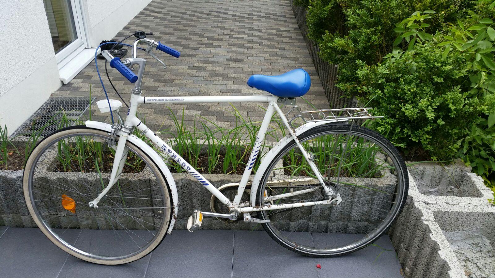 Wer kennt den Besitzer dieses Fahrrads (Foto: OTS)