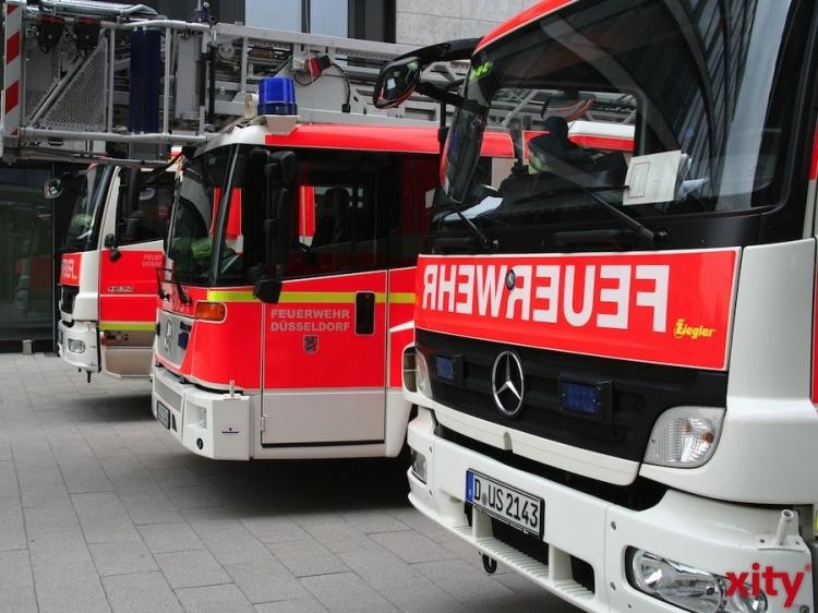 Wartungsarbeiten in einem Verwaltungsgebäude in Derendorf lösen Gaslöschanlage aus (Foto: xity)