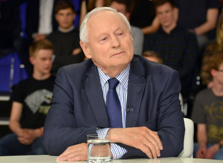 Lafontaine hofft auf rot-rot-grünen Präsidentschaftskandidaten (© 2016 AFP)