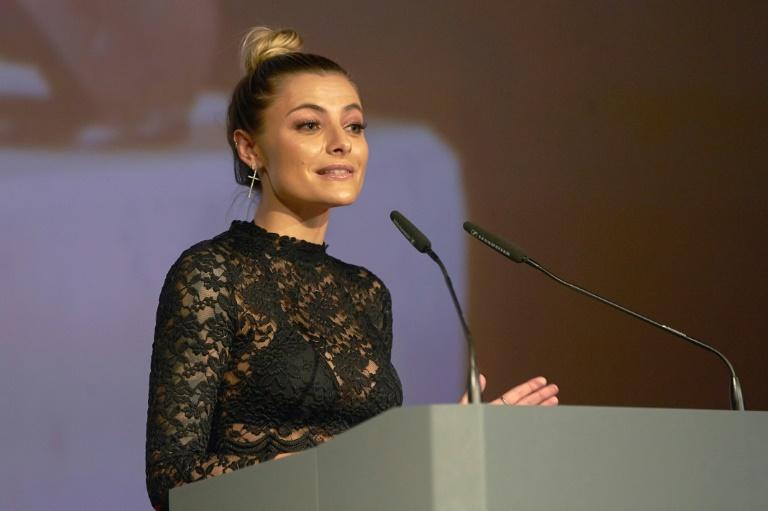 "Sophia Thomalla hat ""aus Extremsituation heraus"" geheiratet (© 2016 AFP)"