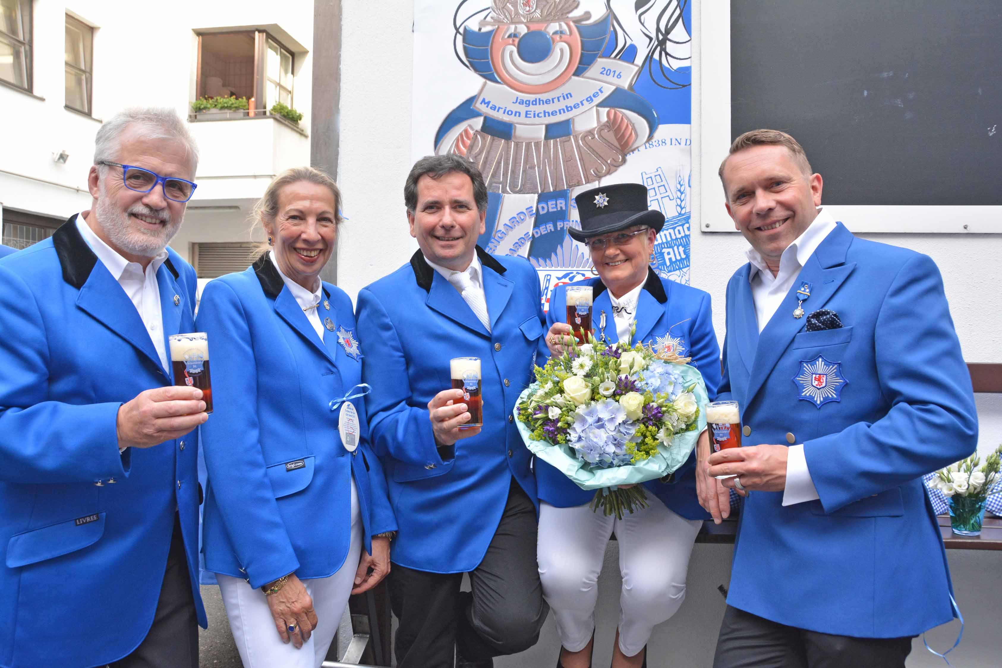 Marion Eichenberger ist neue Jagdherrin der Prinzengarde Blau-Weiss (Foto: Prinzengarde Blau-Weiss)