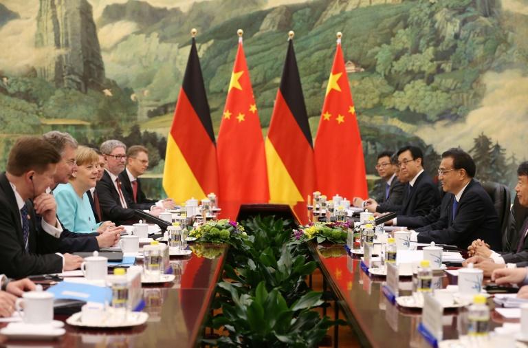 Maas beklagt mangelnde Unabhängigkeit der Justiz in China (© 2016 AFP)