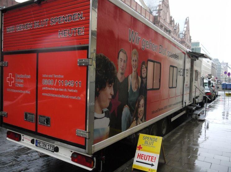 Gut die Hälfte der Bundesbürger hat schon einmal Blut gespendet (Foto: xity)