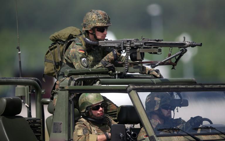 Deutschland drittgrößter Waffenexporteur der Welt (© 2016 AFP)