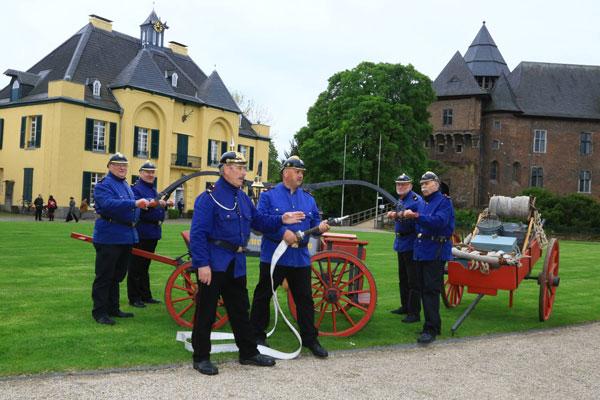 Die historische Feuerwehr in Linn wird 15 Jahre alt (Foto: Stadt Krefeld)