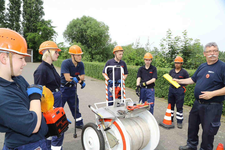 Nachwuchskräfte stellten Fähigkeiten unter Beweis (Foto: Stadt Krefeld, L. Strücken)