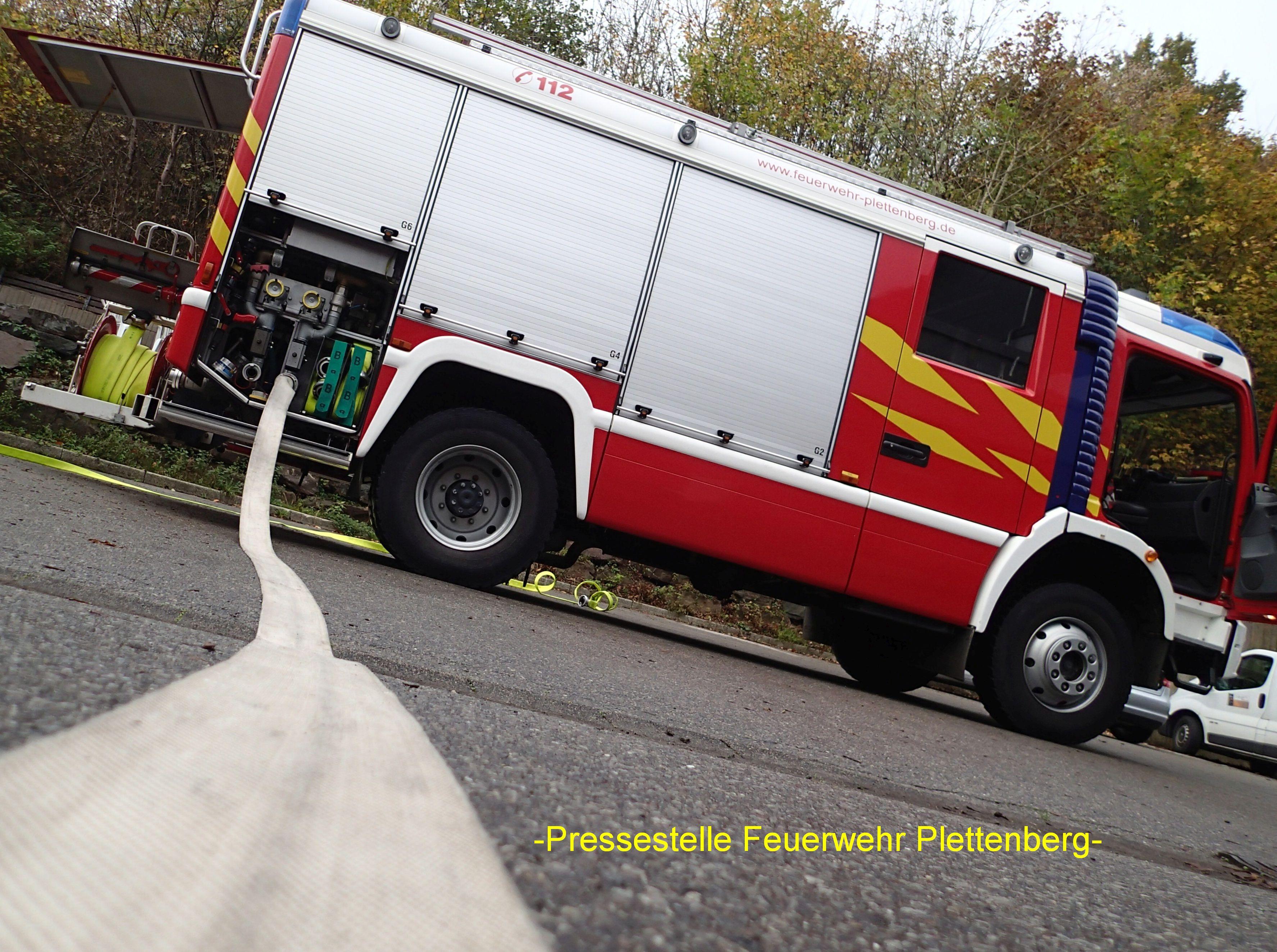 OT- Eiringhausen. LKW-Brand verhindert. ... (Foto: OTS)