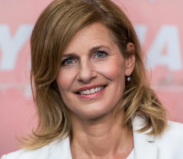 Katrin Müller-Hohenstein lehnt Schönheitsoperationen ab (© 2016 AFP)