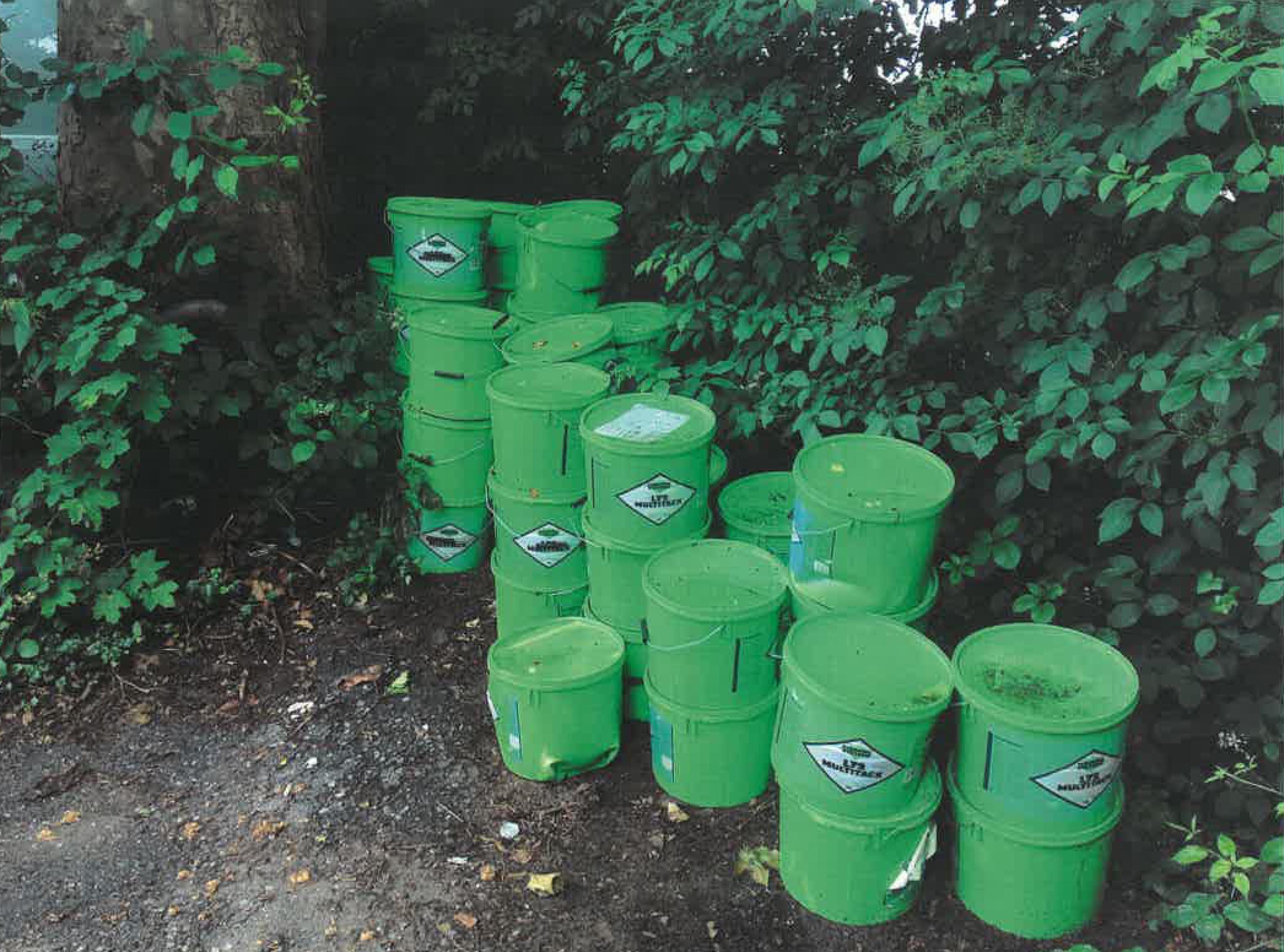 Polizei Düsseldorf sucht Umweltverschmutzer (Foto: Polizei Düsseldorf)