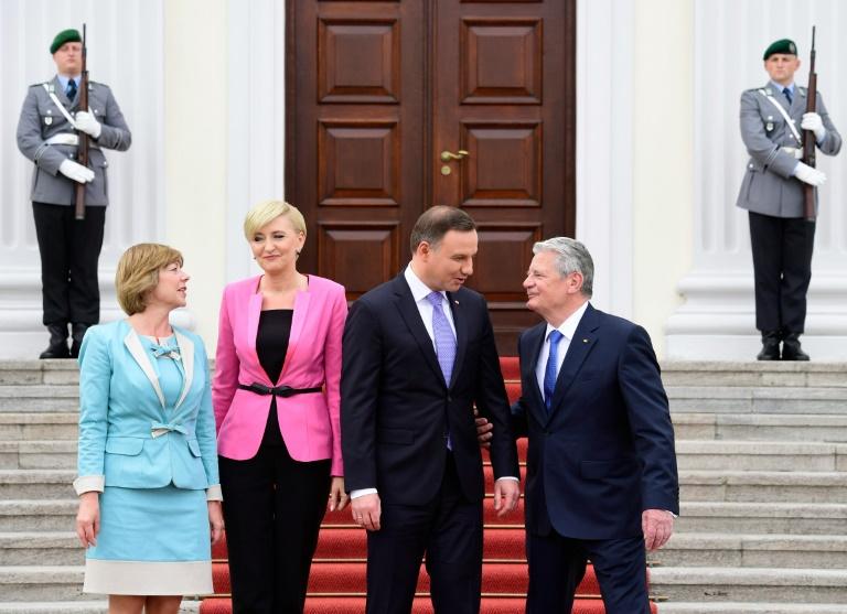 Gauck ruft zu weiterer Annäherung zwischen Deutschland und Polen auf (© 2016 AFP)