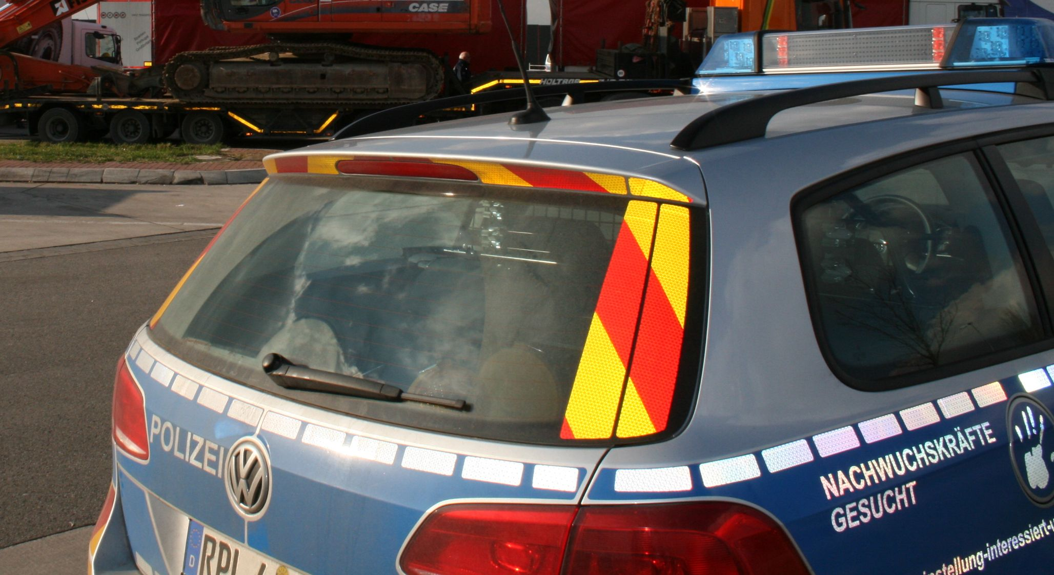 Geisterfahrerin durch Autobahnpolizei gestoppt (Foto: OTS)