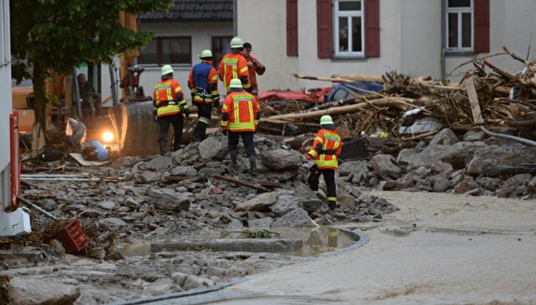 Justizministerium plant Sonderhilfe für überflutete Unternehmen (© 2016 AFP)