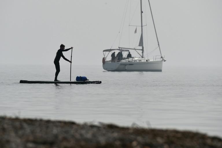 Wasserstand des Bodensees schwappt über Fünf-Meter-Marke (© 2016 AFP)