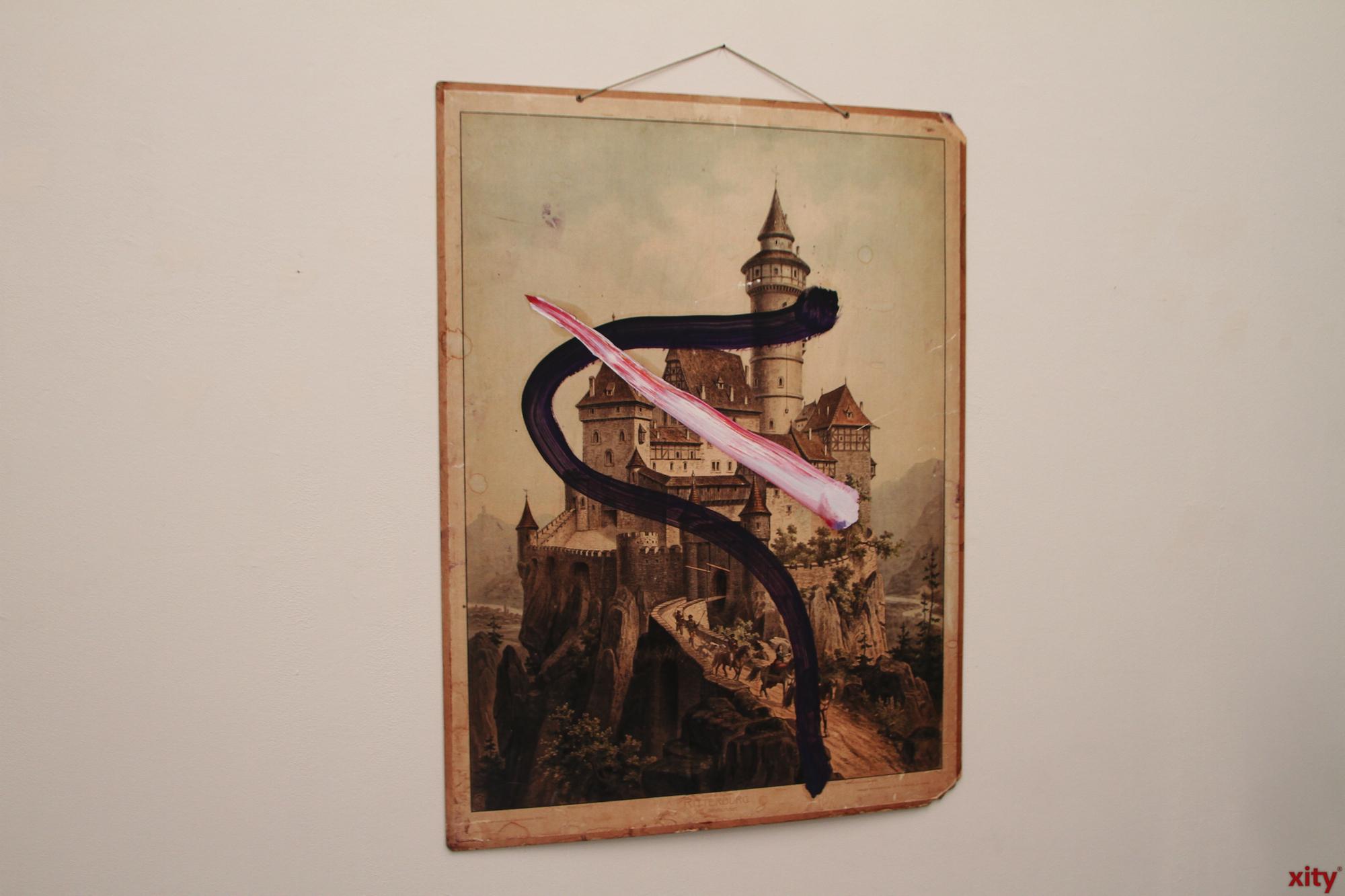 Die Werke werden exklusiv bei Geuer & Geuer gezeigt (Foto: xity)