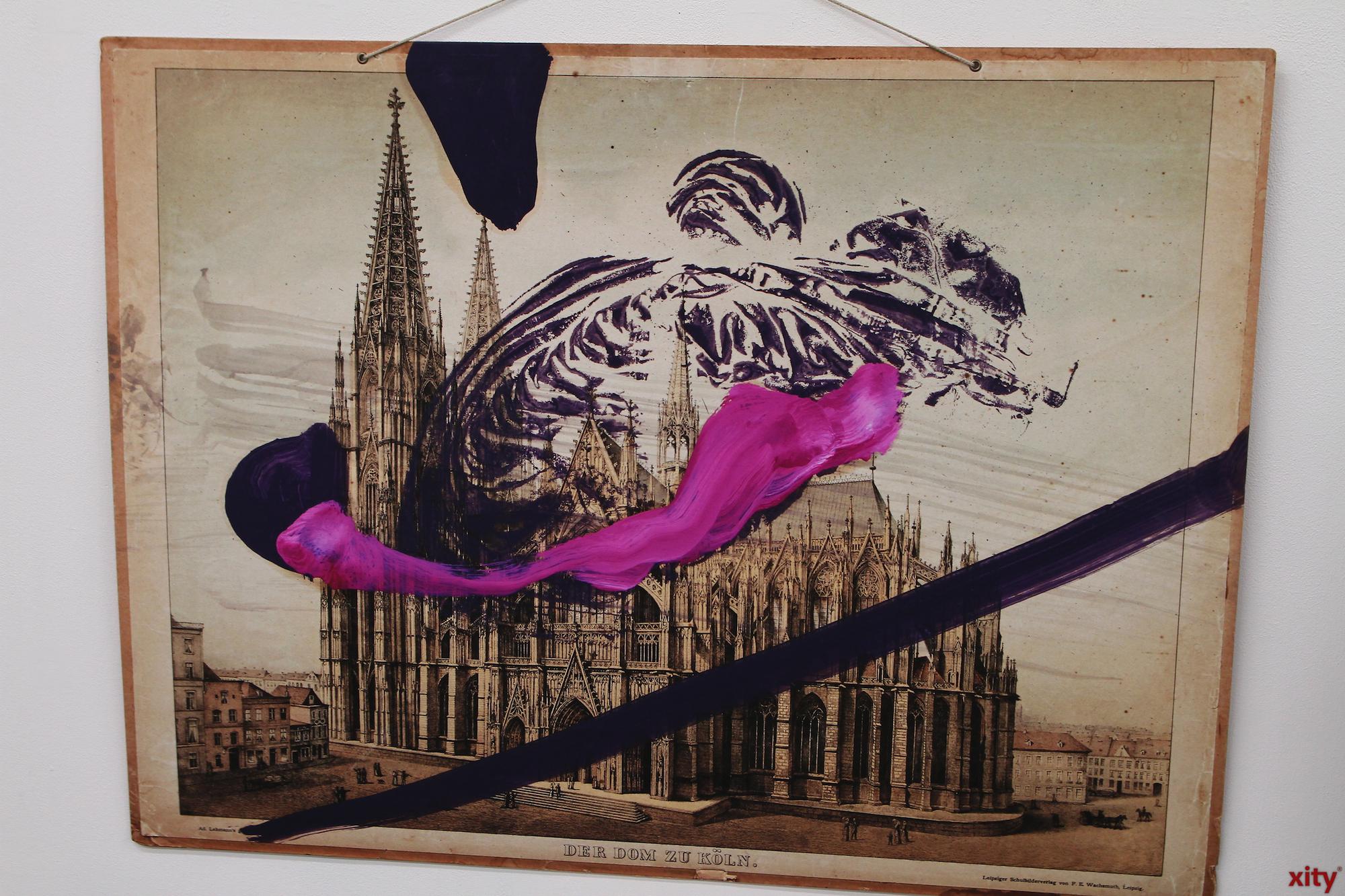 Auch der Kölner Dom inspirierte eines der Werke (Foto: xity)