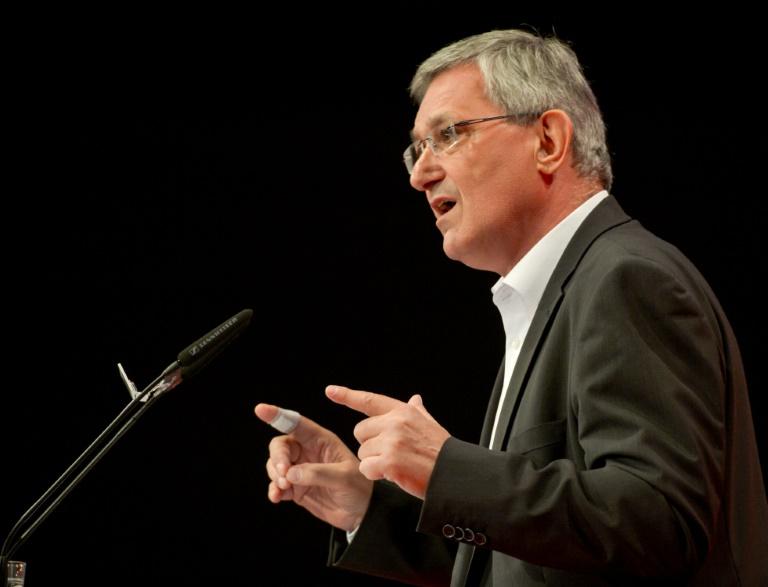 Riexinger ruft SPD und Grüne zur Zusammenarbeit auf (© 2016 AFP)