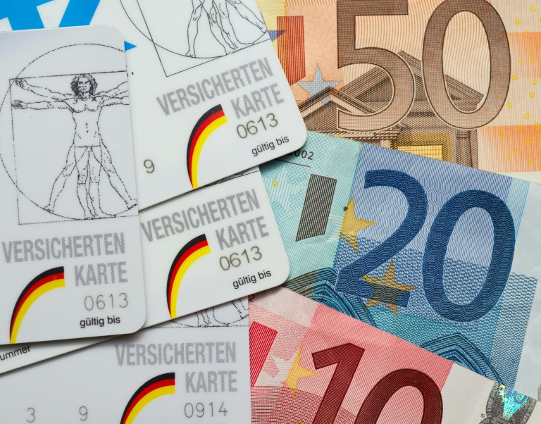 Finanzlage der gesetzlichen Kassen wieder etwas erholt (© 2016 AFP)