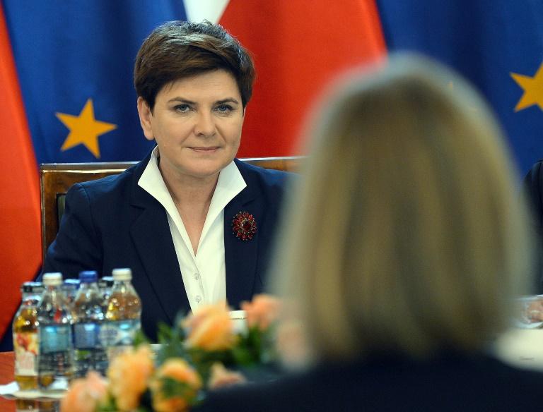 Deutsch-polnische Regierungskonsultationen in Berlin (© 2016 AFP)