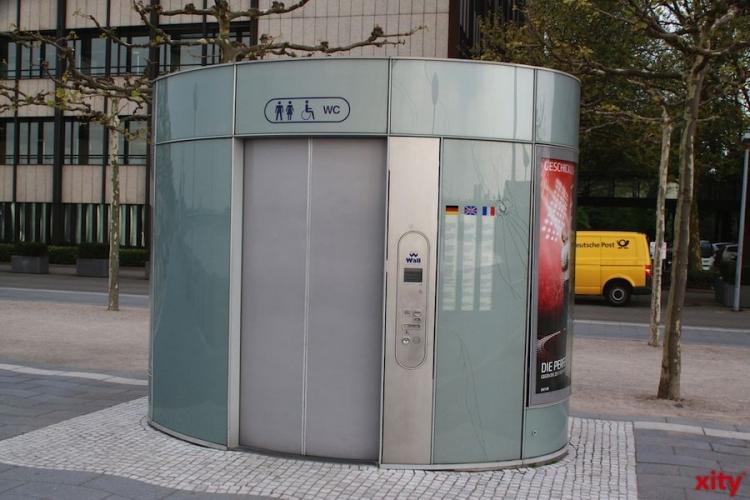 Stadtverwaltung geht bei der Versorgung des Stadtgebietes mit öffentlichen Toilettenanlagen neue Wege (Foto: xity)