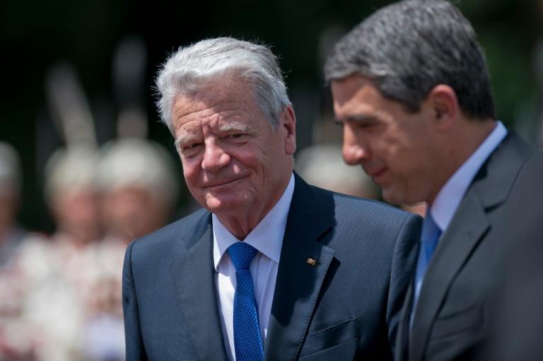 Gauck fordert angesichts von Brexit-Referendum Debatte über europäische Werte (© 2016 AFP)