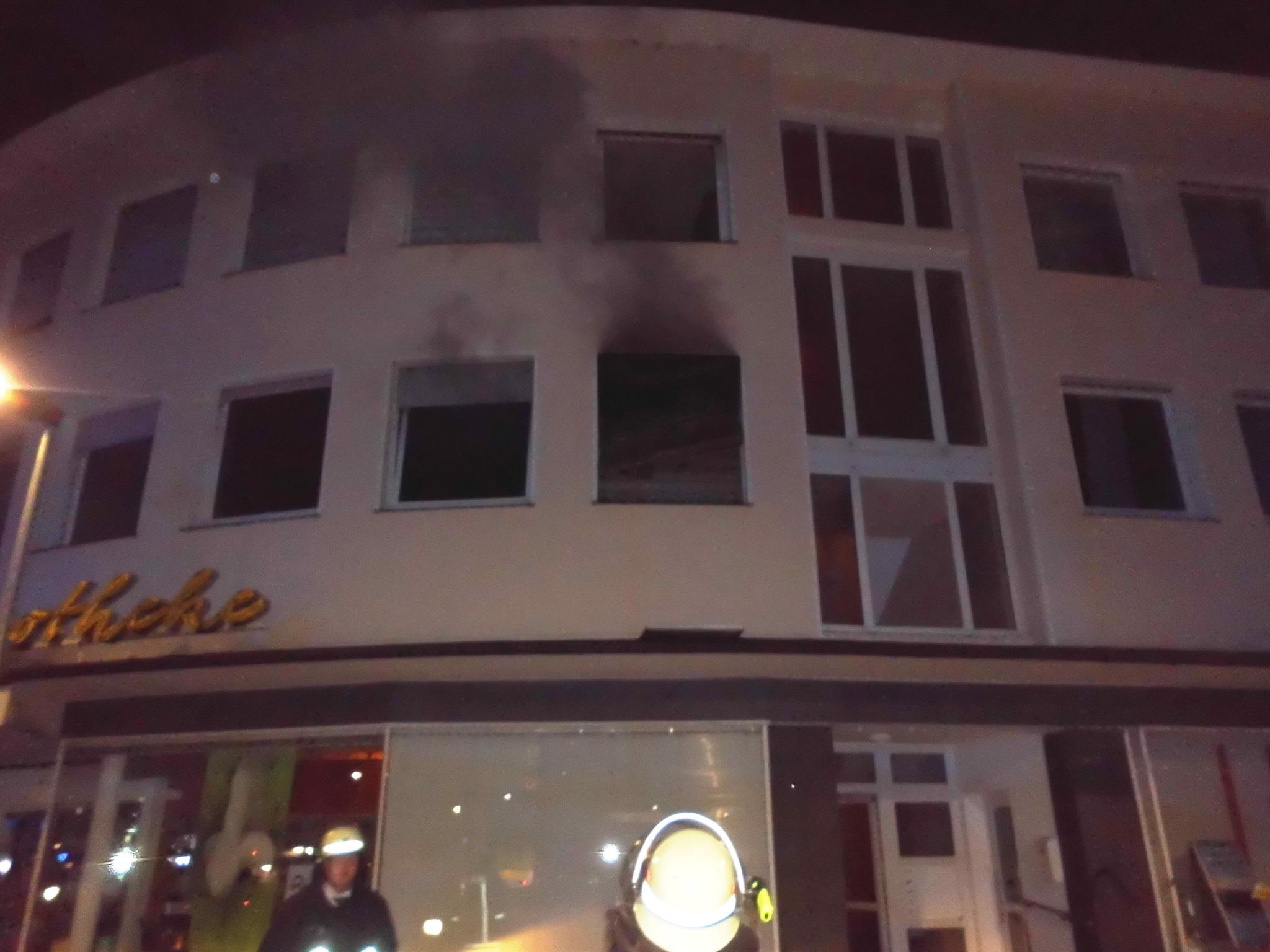 Zehn Verletzte nach Wohnungsbrand (Foto: OTS)