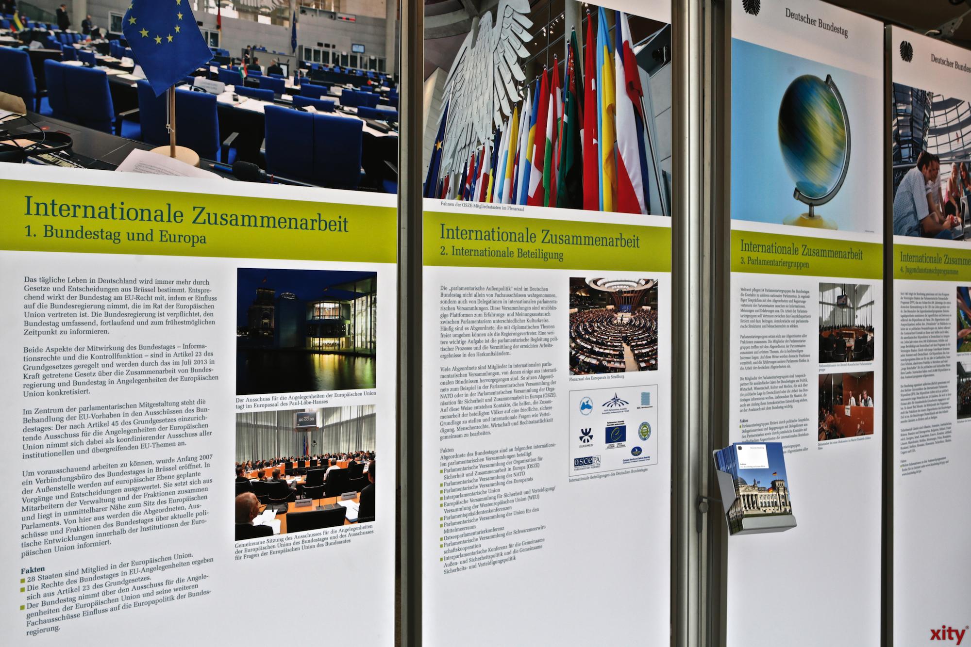 Wanderausstellung des Bundestages (Foto: xity)