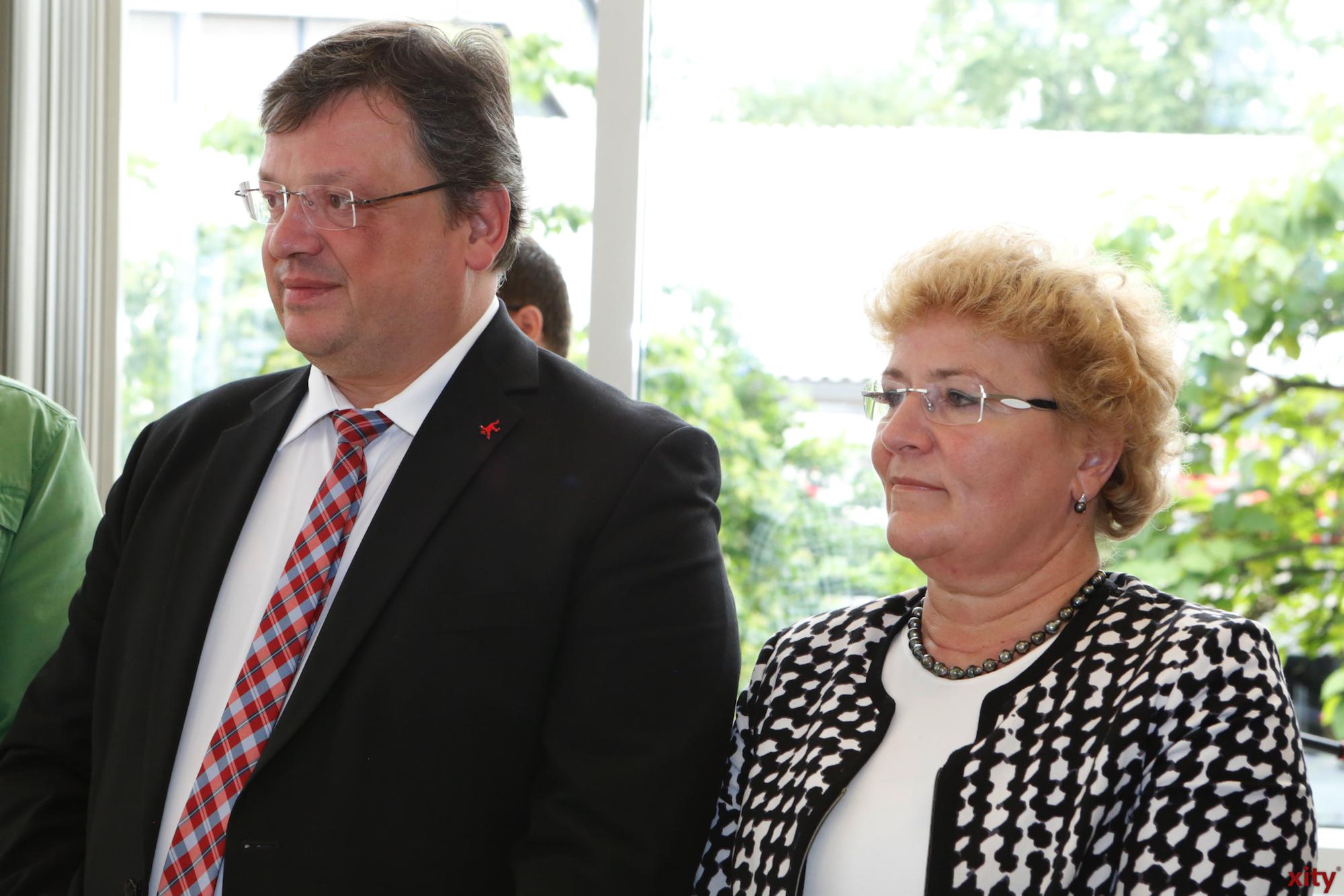 (l.) Andreas Rimkus und Sylvia Pantel (Foto: xity)