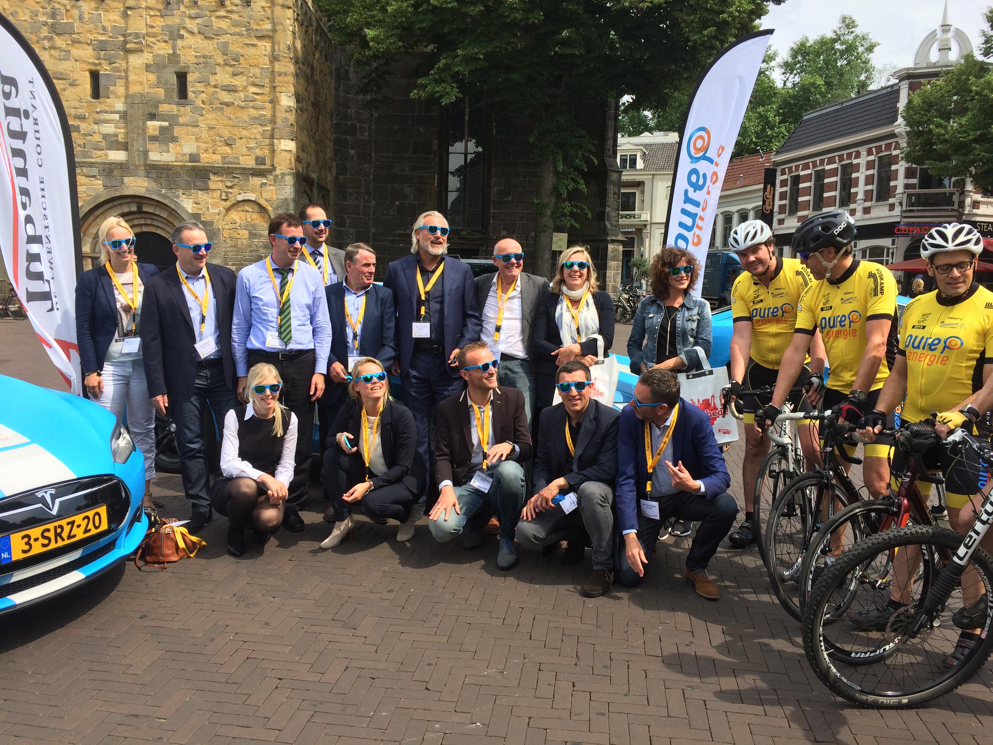 Düsseldorfer Delegation besucht Radsport-Fans in den Niederlanden (Foto: Stadt D)
