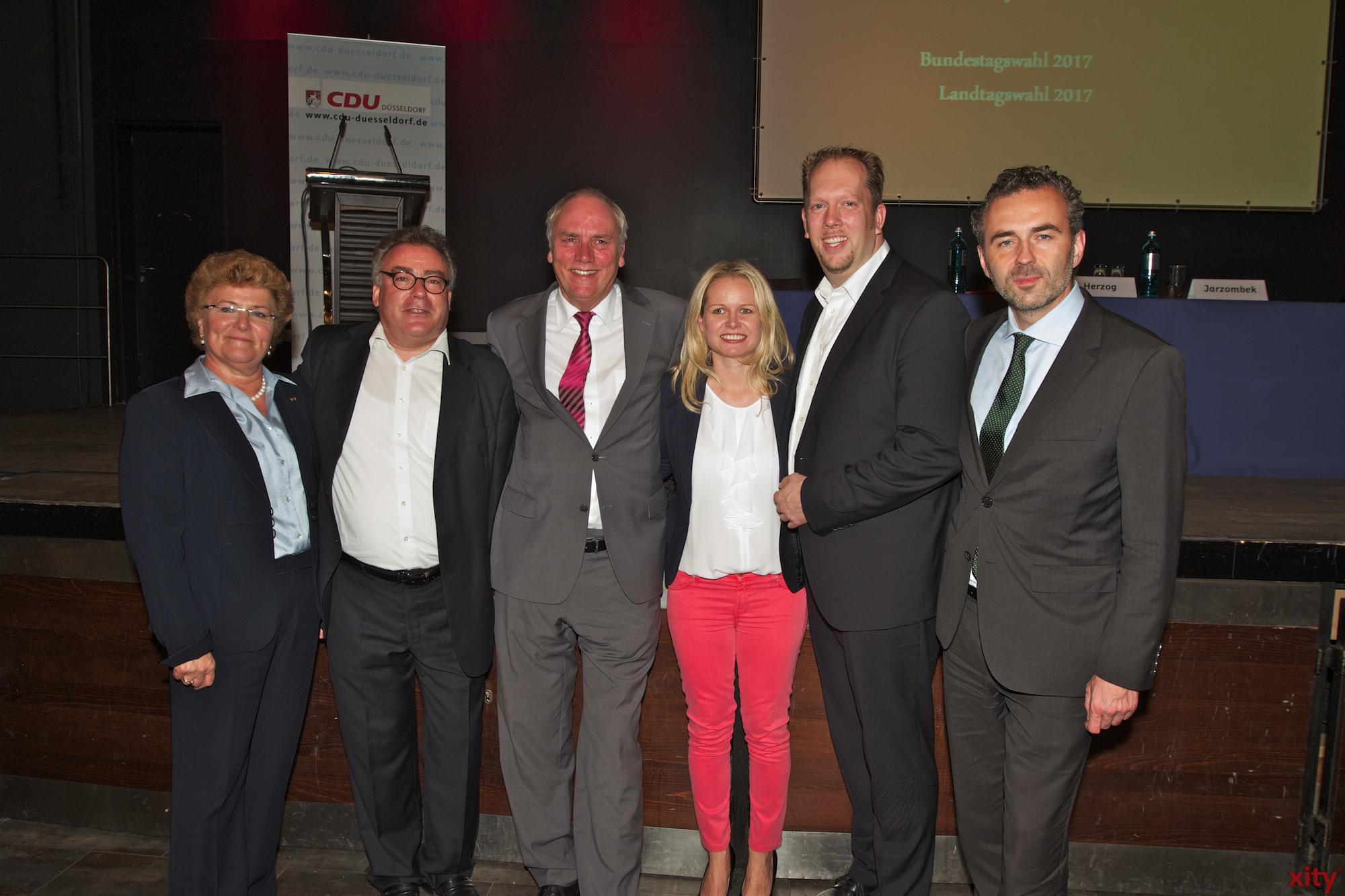 Sylvia Pantel, Olaf Lehne, Peter Preuss, Angela Erwin, Marco Schulz und Thomas Jarzombek (Foto: xity)