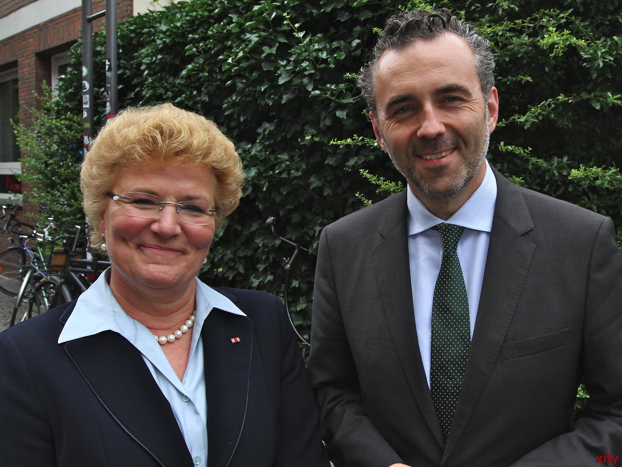 Für die Bundestagswahl nominiert: Silvia Pantel und Thomas Jarzombek (Foto: xity)