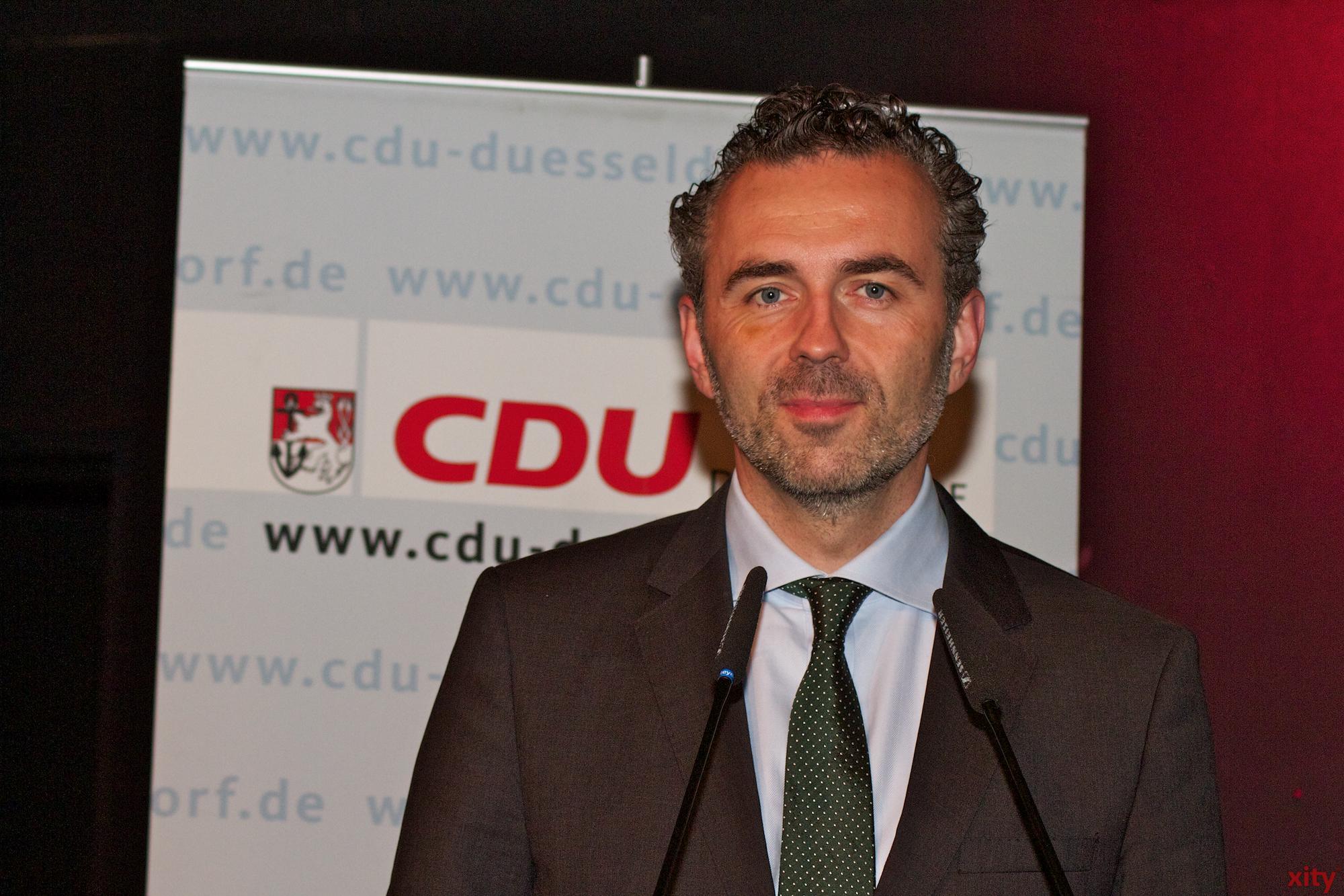Thomas Jarzombek, Vorsitzender der CDU Düsseldorf (Foto: xity)