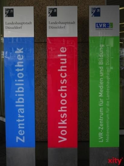 """""""Forum Hobby Schreiben"""" in der Zentralbibliothek Düsseldorf (Foto: xity)"""