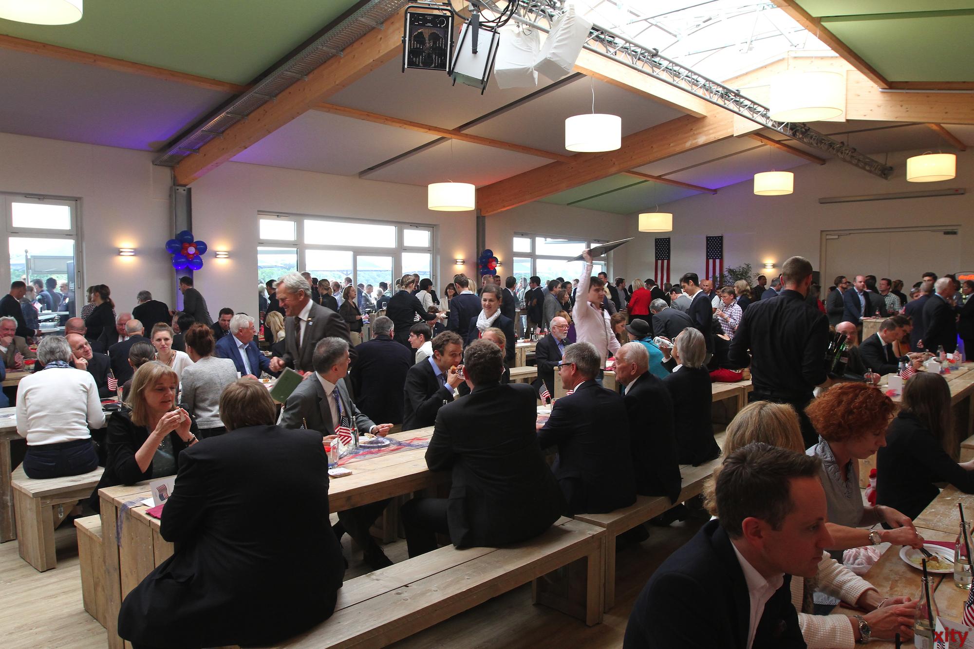 Das Fest fand im Teehaus an der Rennbahn in Grafenberg statt (Foto: xity)
