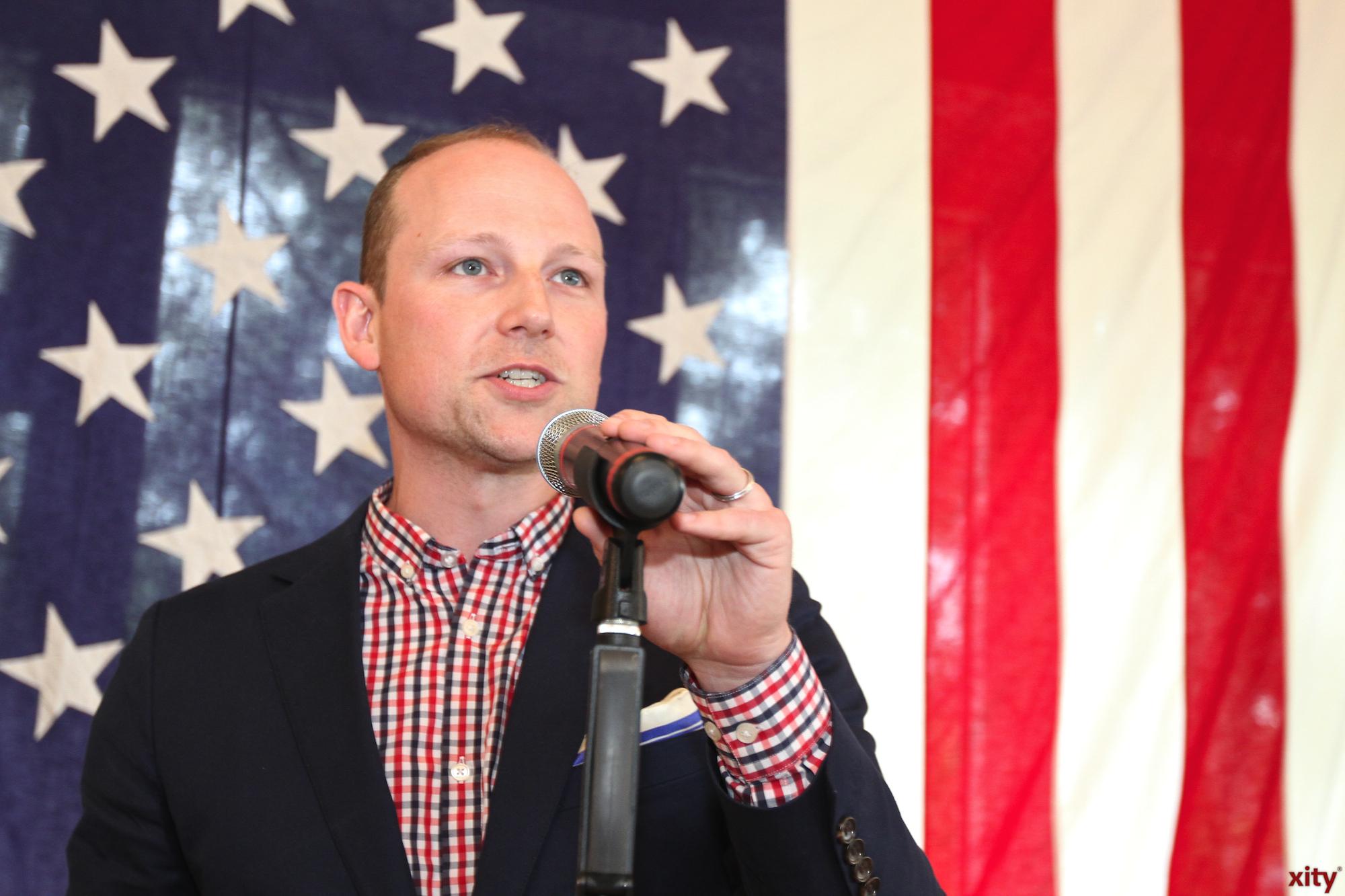 Derek Kelly, Vize-Konsul der Vereinigten Staaten von Amerika in Düsseldorf (Foto: xity)