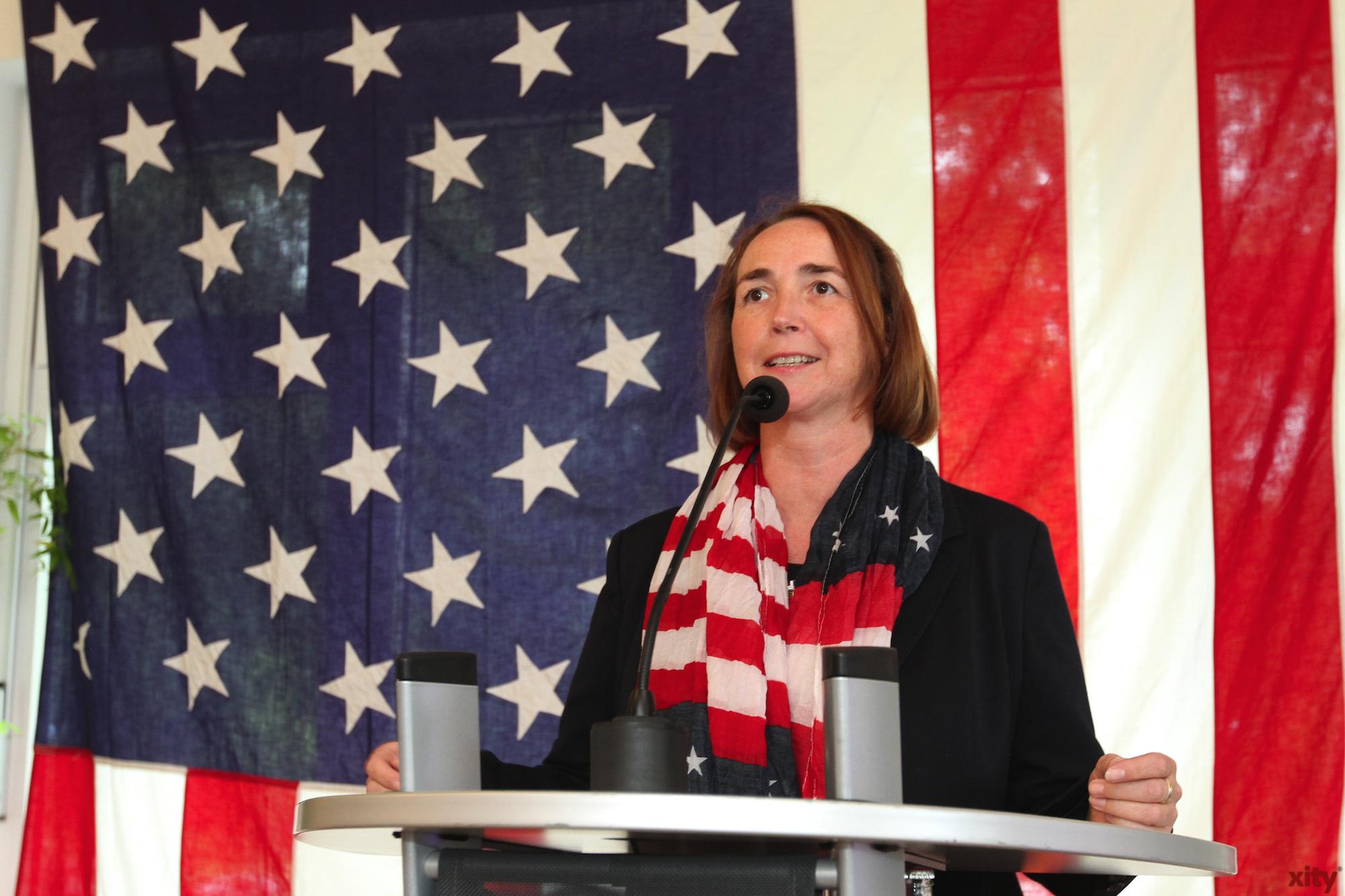 Als Vertreterin des Landes Nordrhein-Westfalen sprach Angela Freimuth, Vize-Chefin der FDP-Landtagsfraktion (Foto: xity)