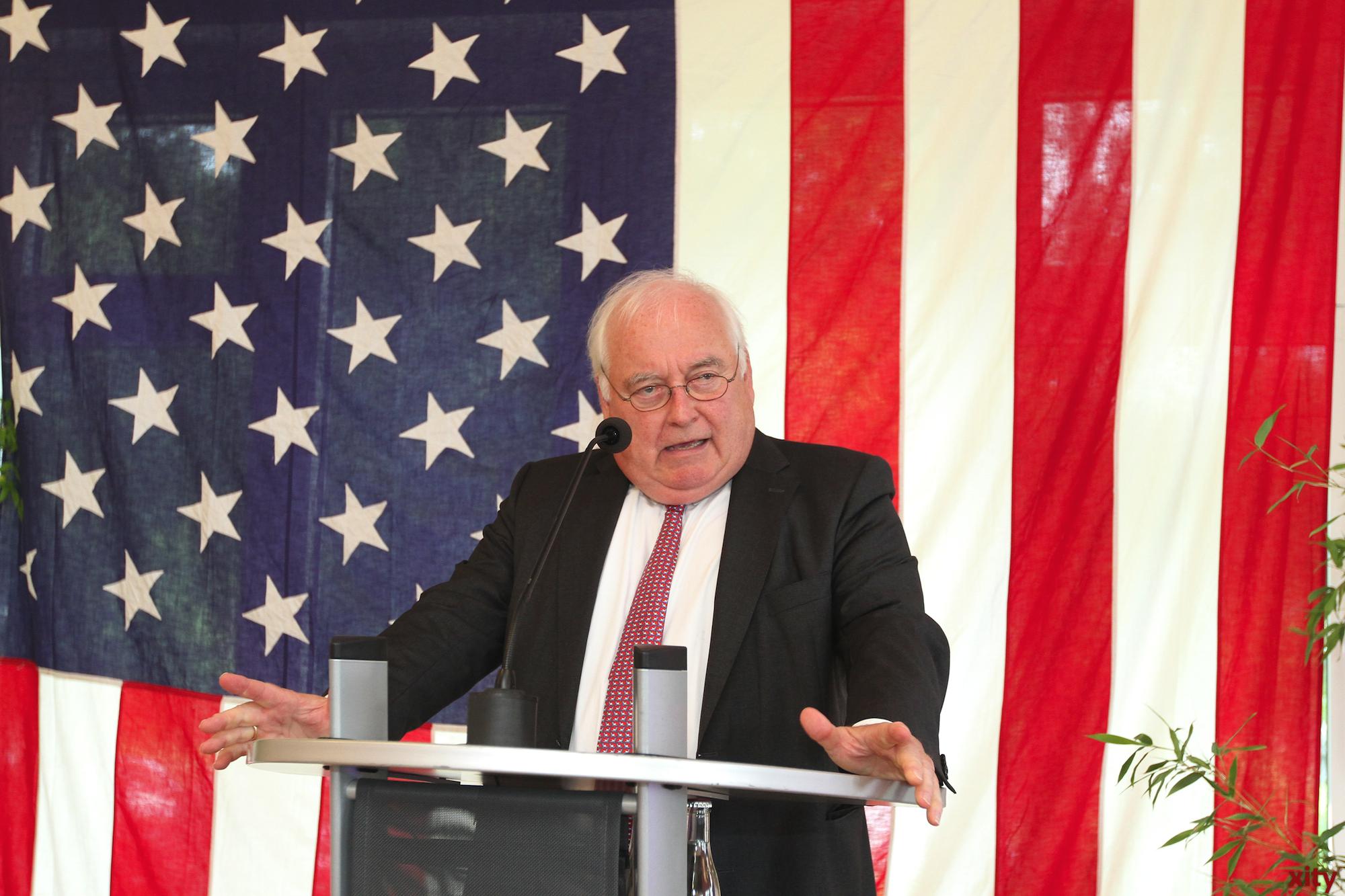 Friedrich G. Conzen, Bürgermeister der Stadt Düsseldorf (Foto: xity)