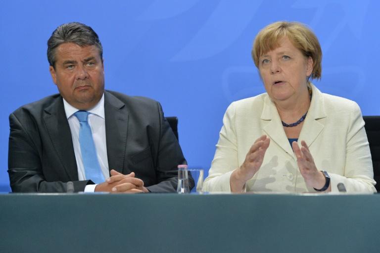 Zwischen Union und SPD werden Differenzen in Europapolitik deutlicher (© 2016 AFP)