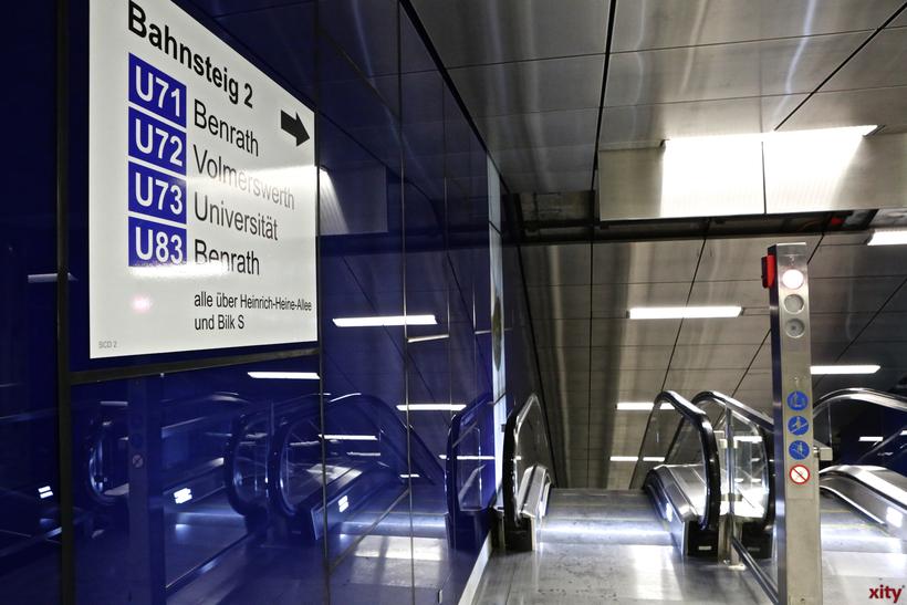 Führung durch die U-Bahnhöfe der Wehrhahn-Linie (Foto: xity)