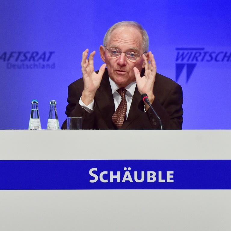 Schäuble: EU sollte einige zentrale Probleme schnell lösen (© 2016 AFP)