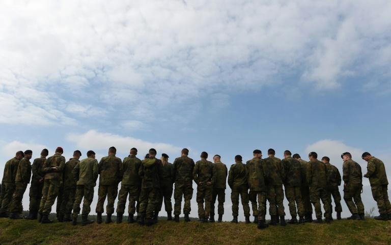 Ein Viertel der Soldaten im einfachen Dienst mit Migrationshintergrund (© 2016 AFP)