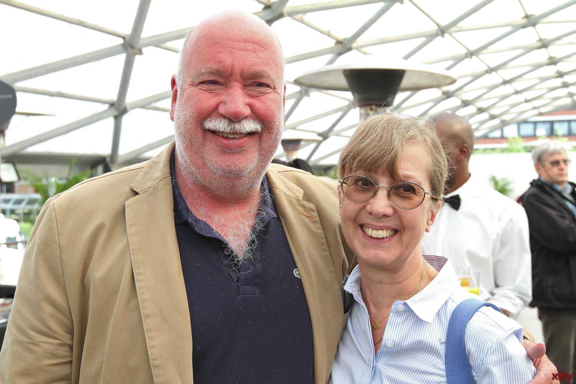 CDU-Ratsherr Dirk-Peter Sültenfuß kam mit seiner Frau zum Fest (Foto: xity)